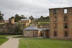 Het Port Arthur van de gevangenis, Tasmanige, Australië Stock Foto's