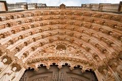 Het portiek van de kathedraal Royalty-vrije Stock Foto