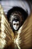 Het portret Carnaval van het masker van Venetië Italië Stock Afbeeldingen