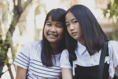 Het portret headshot van Aziatische tiener stelt als mannequin royalty-vrije stock foto's