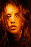 Het Portret van Alina Royalty-vrije Stock Foto's