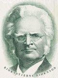 Het portret van Bjornstjernebjornson stock foto