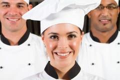 Het portret van chef-koks Royalty-vrije Stock Afbeeldingen