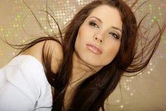 Het Portret van de aantrekkingskracht van sexy meisje Stock Foto