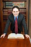Het portret van de advocaat Stock Foto