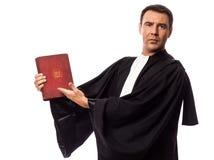 Het portret van de advocaatmens stock afbeelding