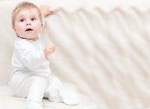 Het portret van de baby. Royalty-vrije Stock Afbeeldingen