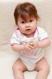 Het portret van de baby Stock Foto