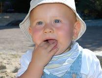 Het portret van de baby Stock Foto's