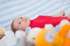 Het portret van de baby Stock Fotografie