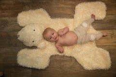 Het portret van de babyjongen Stock Fotografie
