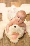 Het portret van de babyjongen Royalty-vrije Stock Fotografie
