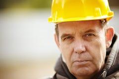 Het Portret van de bouwvakker royalty-vrije stock fotografie