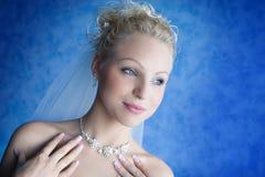 Het portret van de bruid Stock Fotografie