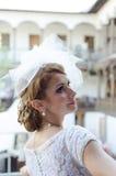 Het portret van de bruid Stock Afbeeldingen