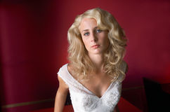 Het Portret van de bruid royalty-vrije stock foto's