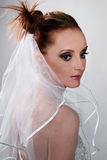 Het portret van de bruid royalty-vrije stock foto