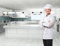 Het portret van de chef-kok Royalty-vrije Stock Fotografie