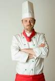 Het portret van de chef-kok Royalty-vrije Stock Afbeeldingen