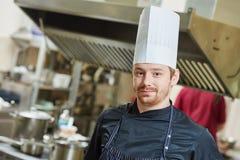 Het portret van de chef-kokkok Royalty-vrije Stock Afbeeldingen