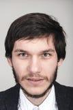 Het portret van de close-up van de jonge mens Royalty-vrije Stock Foto