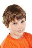 Het portret van de close-up van jongen Royalty-vrije Stock Foto