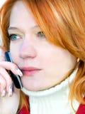 Het portret van de close-up van meisje Royalty-vrije Stock Foto's