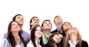 Het portret van de close-up van vele mensen Royalty-vrije Stock Foto's