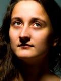 Het portret van de dame Royalty-vrije Stock Afbeeldingen