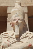 Het portret van de Egyptische koning Stock Afbeelding