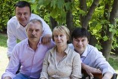 Het Portret van de familie Stock Fotografie