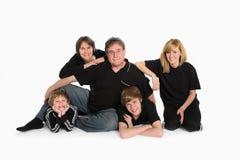 Het Portret van de familie royalty-vrije stock foto