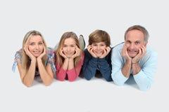Het portret van de familie royalty-vrije stock afbeelding