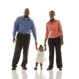 Het portret van de familie. Royalty-vrije Stock Afbeeldingen
