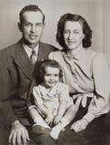 Het Portret van de familie Royalty-vrije Stock Fotografie