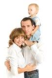 Het portret van de familie Royalty-vrije Stock Afbeeldingen