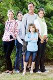Het Portret van de familie stock foto