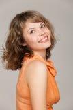 Het portret van de glamour van mooie vrouw royalty-vrije stock foto