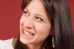 Het portret van de glimlach Royalty-vrije Stock Fotografie