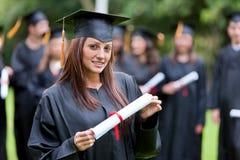 Het portret van de graduatie Royalty-vrije Stock Afbeelding