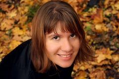 Het portret van de herfst Royalty-vrije Stock Afbeeldingen