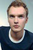 Het portret van de jonge kerel Royalty-vrije Stock Foto