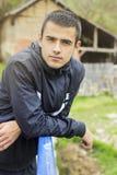 Het Portret van de jonge Mens stock fotografie