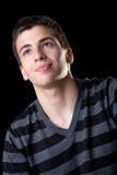 Het Portret van de jonge Mens Stock Foto's