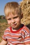 Het portret van de jongen Stock Foto