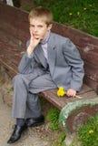 Het portret van de jongen Stock Fotografie