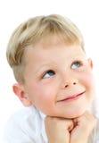 Het portret van de jongen stock afbeelding