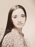 Het portret van de kunst Stock Foto