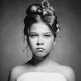 Mooie meisjesprinses Stock Afbeeldingen