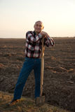 Het Portret van de landbouwer Royalty-vrije Stock Afbeelding
